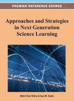 Cover image for Approaches and strategies in next generation science learning
