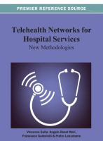 Cover image for Telehealth networks for hospital services : new methodologies