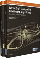 Cover image for Handbook of research on novel soft computing intelligent algorithms : theory and practical applications