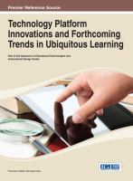 Cover image for Technology platform innovations and forthcoming trends in ubiquitous learning