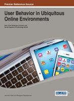 Cover image for User behavior in ubiquitous online environmentsaUser behavior in ubiquitous online environments