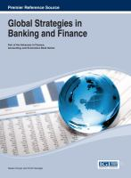 Cover image for Global strategies in banking and finance
