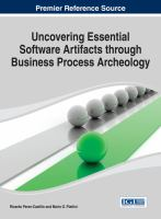 Cover image for Uncovering essential software artifacts through business process archeology