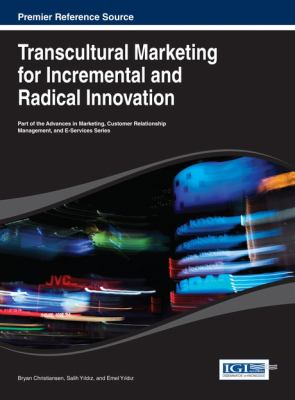 Cover image for Transcultural marketing for incremental and radical innovation