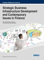 Cover image for Handbook of research on strategic business infrastructure development and contemporary issues in finance