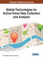 Cover image for Mobile technologies for activity-travel data collection and analysis
