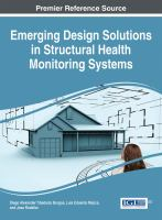 Cover image for Emerging design solutions in structural health monitoring systems