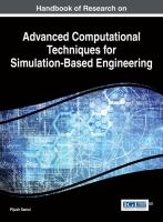 Cover image for Handbook of research on advanced computational techniques for simulation-based engineering