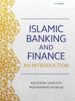 Cover image for ISLAMIC BANKING AND FINANCE : AN INTRODUCTION