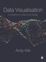 Cover image for Data Visualisation : A Handbook for Data Driven Design