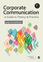 Cover image for Corporate communication : A Guide to Theory & Practice