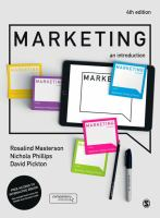 Cover image for MARKETING : an introduction ; #MKTG4E
