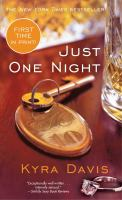 Cover image for Just one night