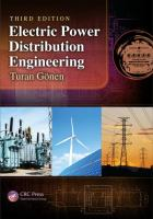 Cover image for Electric power distribution Engineering