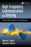 Cover image for High frequency communication and sensing : traveling-wave techniques