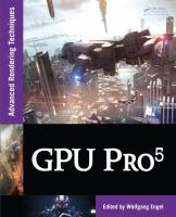 Cover image for GPU pro 5 : advanced rendering techniques
