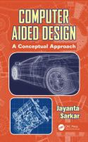 Cover image for Computer aided design : a conceptual approach