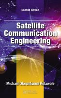 Cover image for Satellite communication engineering