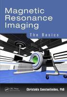 Cover image for Magnetic resonance imaging : the basics