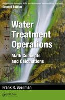 Cover image for Mathematics manual for water and wastewater treatment plant operators