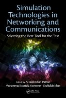 Cover image for Simulation technologies in networking and communications : selecting the best tool for the test