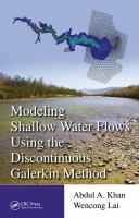 Cover image for Modeling shallow water flows using the discontinuous Galerkin method
