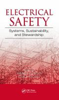 Cover image for Electrical safety : systems, sustainability, and stewardship