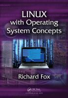 Cover image for Linux with operating system concepts