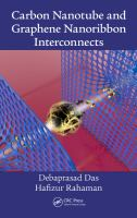 Cover image for Carbon nanotube and graphene nanoribbon interconnects