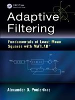 Cover image for Adaptive filtering : fundamentals of least mean squares with MATLAB