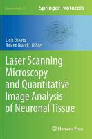 Cover image for Laser scanning microscopy and quantitative image analysis of neuronal tissue