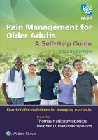 Cover image for Pain Management for Older Adults : A Self-Help Guide