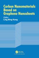 Cover image for Carbon Nanomaterials Based on Graphene Nanosheets