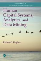 Cover image for Human capital systems, analytics, and data mining