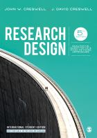 Cover image for RESEARCH DESIGN : QUALITATIVE, QUANTITATIVE & MIXED METHODS APPROACHES
