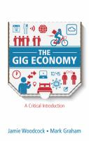 Cover image for The Gig Economy: A Critical Introduction