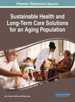 Cover image for Sustainable Health and Long-Term Care Solutions for an Aging Population