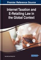 Cover image for Internet Taxation and E-Retailing Law in the Global Context