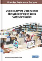 Cover image for Diverse Learning Opportunities Through Technology-Based Curriculum Design