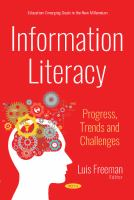 Cover image for Information literacy : progress, trends and challenges