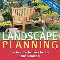Cover image for Landscape planning : practical techniques for the home gardener
