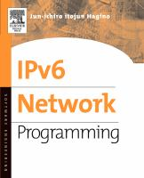 Cover image for IPv6 network programming