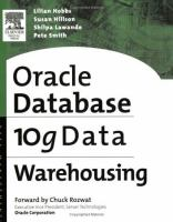 Cover image for Oracle 10g data warehousing