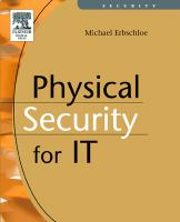 Cover image for Physical security for IT