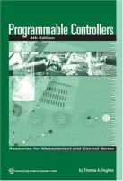 Cover image for Programmable controllers