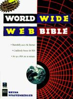 Cover image for World wide web bible
