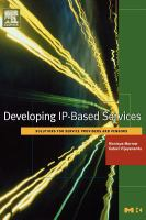 Cover image for Developing IP-based services : solutions for service providers and vendors