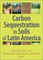 Cover image for Carbon sequestration in soils of Latin America