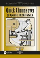 Cover image for Quick changeover for operators : the SMED system