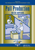 Cover image for Pull production for the shopfloor